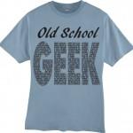 Old School Geek (Mens)